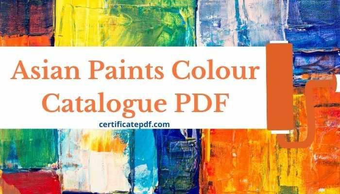 asian paints catalogue pdf